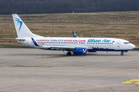 YR-BMH @ EDDK - YR-BMH - Boeing 737-8K5(WL) - Blue Air - by Michael Schlesinger