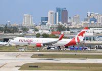 C-FMXC @ KFLL - Boeing 767-300ER - by Mark Pasqualino