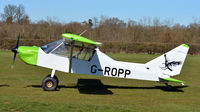 G-ROPP @ EGTH - X G-ROPP visiting The Shuttleworth Collection, April, 2018.