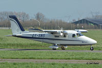 OY-SNS @ EBAW - At Antwerp Airport. - by Jef Pets