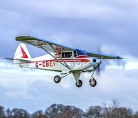 G-CBEI @ EGBR - Dave on finals - by dave marshall