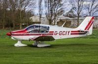 G-GCIY @ EGBR - Arrival - by dave marshall