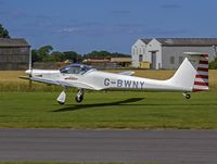 G-BWNY @ EGBR - Interesting arrival on the day - by dave marshall