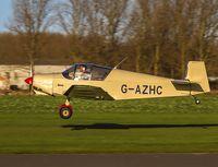 G-AZHC @ EGBR - Departing - by dave marshall