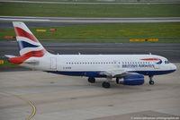 G-EUPW @ EDDL - Airbus A319-131 - BA BAW British Airways - 1440 - G-EUPW - 27.04.2016 - DUS - by Ralf Winter