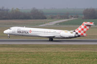 EI-EXI @ LOWW - Volotea Boeing 717 - by Andreas Ranner