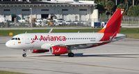 N694AV @ FLL - Avianca