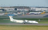 G-ECOF @ EGBB - FROM FREEPORT CAR PARK - by Emmylou1006