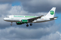D-ABGO @ EDDK - D-ABGO - Airbus A319-112 - Germania - by Michael Schlesinger