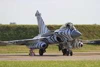 36 @ LFRJ - Dassault Rafale M, Flight line, Landivisiau Naval Air Base (LFRJ) Tiger Meet 2017 - by Yves-Q
