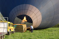 G-CENX @ EGSH - Being inflated in a field off Bluebell Road, Norwich. - by Graham Reeve