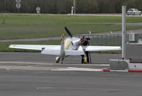 F-HXAL @ LFGI - Refuelling at Darois airport ; no more Breitling sponsorship ? - by olivier Cortot