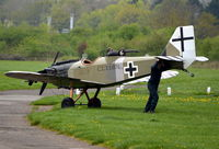 G-BNPV @ EGLM - Bowers Fly Baby 1A at White Waltham. - by moxy