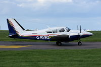 G-RVRZ @ EGSH - Departing from Norwich. - by Graham Reeve
