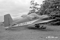 ZK-DEO @ NZMS - A J Buchanan, Waitoa - by Peter Lewis