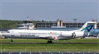 D-AGPH @ EDDR - Fokker 100 - by Jerzy Maciaszek