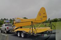 N28044 - Headed to a new home via the interstate 77 route - by Floyd Taber