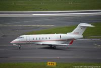 D-BUBI @ EDDL - Bombardier BD-100-1A10 Challenger 300 - QGA Windrose Air Jetcharter GmbH - 20145 - D-BUBI - 27.04.2016 - DUS - by Ralf Winter