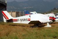 F-GSRS @ LFKC - Parked