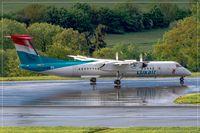 LX-LGM @ EDDR - De Havilland Canada DHC-8-402Q - by Jerzy Maciaszek