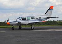 N250MD @ EGTF - Piper PA-31 Navajo at Fairoaks. - by moxy