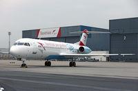 OE-LVE @ LOWW - Austrian says goodbye to Fokker