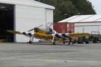 ZK-CMM @ NZAR - outside warbird hangar - by magnaman