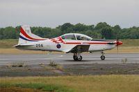 056 @ LFSI - Pilatus PC-9M, Croatian Air Force aerobatic team, Taxiing on rwy 29, St Dizier-Robinson Air Base 113 (LFSI) Open day 2017 - by Yves-Q