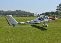 G-SAGA @ EGHP - Grob G-109B at Popham. Ex OE-9254 - by moxy
