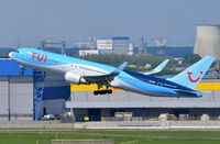 OO-JNL @ EBBR - Tui B763 lifting/off in BRU - by FerryPNL