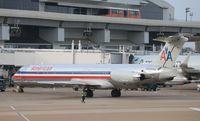 N424AA @ KDFW - MD-82
