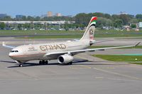 A6-EYS @ EHAM - Etihad A332 arriving in AMS - by FerryPNL