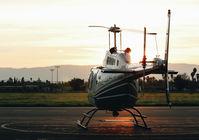 N1078Q @ KRHV - 1978 Bell 206B visiting from San Carlos at Reid Hillview Airport, San Jose, CA. - by Chris Leipelt
