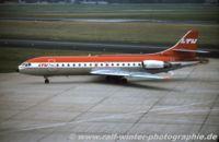 D-ABAP @ EDDL - Sud Aviation SE 210 Caravelle - LTU Lufttransportunternehmen - 235 - D-ABAP - 1977 - by Ralf Winter