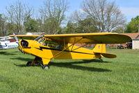 N6337H @ I73 - Piper J3C-65 Cub - by Christian Maurer
