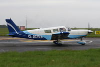 G-ATRX @ EGSH - Departing from Norwich. - by Graham Reeve