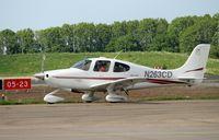 N263CD @ EHLE - Lelystad Airport