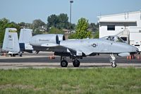 """78-0692 @ KBOI - Taxiing to RWY 10R.  163rd Fighter Sq. """"Blacksnakes"""", 122nd Fighter Wing , Fort Wayne, IN ANG. - by Gerald Howard"""