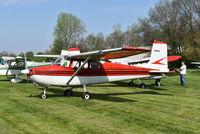 N6651A @ I73 - Cessna 172 - by Christian Maurer
