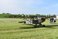 N6966 @ I73 - Wag Aero Trainer - a look alike L-4 grasshopper - by Christian Maurer