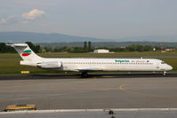 LZ-LDN @ LOWG - Bulgarian Air Charter MD-82 @GRZ (charter from/to NAP) - by Stefan Mager