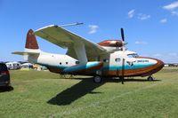 N147MV @ LAL - G-73T Turbo Mallard