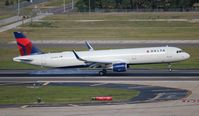 N344DN @ TPA - Delta - by Florida Metal