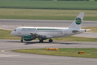 D-ASTC @ VIE - Germania Airbus A319 - by Thomas Ramgraber