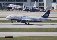 N708UW @ MIA - USAirways - by Florida Metal