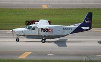 N715FX @ MIA - Fed Ex Caravan