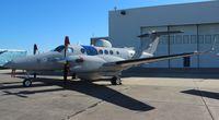 N716A @ NIP - DHS King air - by Florida Metal