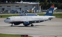 N722US @ FLL - US Airways