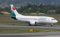 SX-LWA @ LOWG - Lumiwings Boeing 737-330