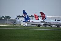 N378CX @ ILN - Ameristar Boeing 767-300 - by Christian Maurer